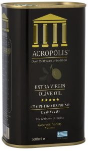 Acropolis Extra Virgin Olive Oil Tinned 500ml