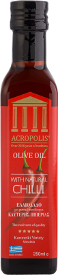Acropolis Extra Virgin Olive Oil With Natural CHILLI 250ml