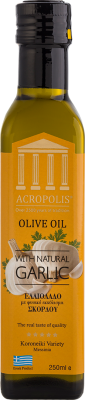 Acropolis Extra Virgin Olive Oil With Natural GARLIC 250ml